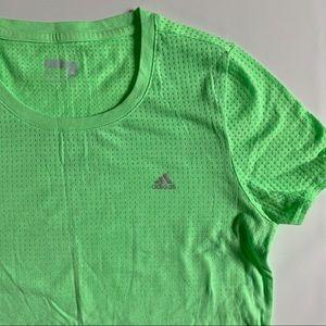 Adidas Climacool Aeroknit green t-shirt